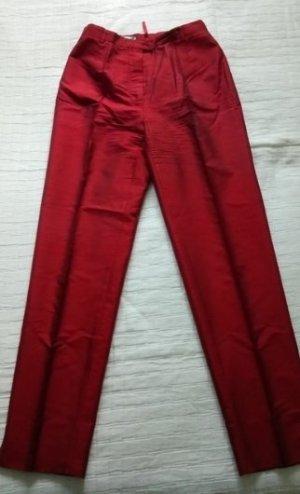 rote Bundfaltenhose von Marc Aurel Gr. 38