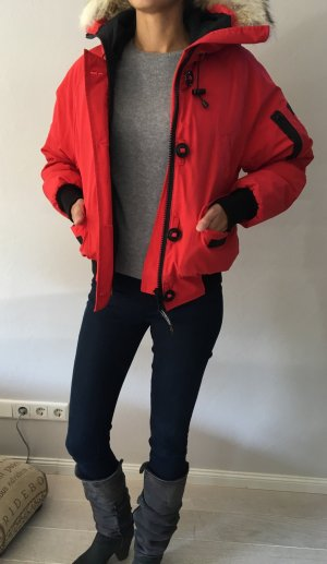 Canada Goose Bomber Jacket red-black mixture fibre
