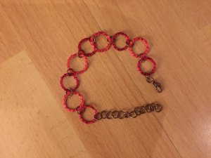 Rote chain bracelet!