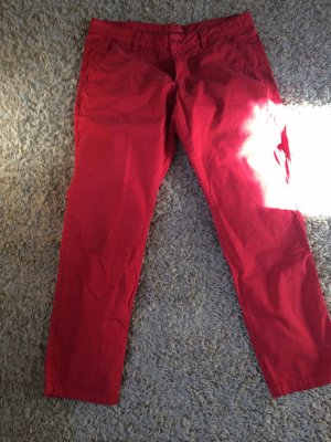 Rote Chino Hose von Esprit
