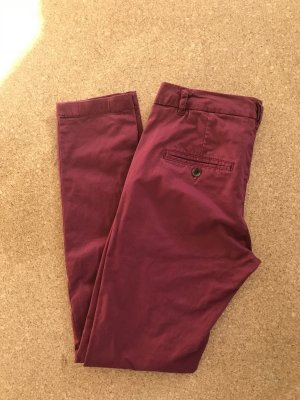 Rote Chinohose Gr. 36