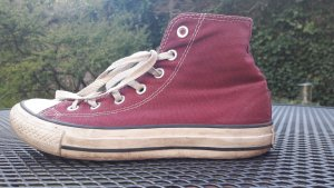 Rote Chucks von Converse