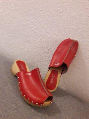 Esprit Sandales à talons hauts et plateforme multicolore