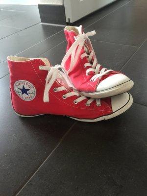 Rote Converse Chucks light