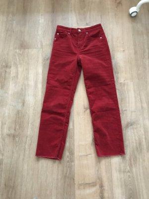 H&M Pantalón de pana multicolor
