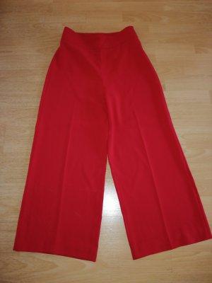 Zara Pantalone culotte rosso