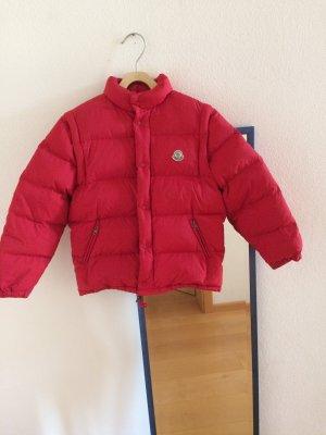Moncler Piumino rosso mattone-rosso