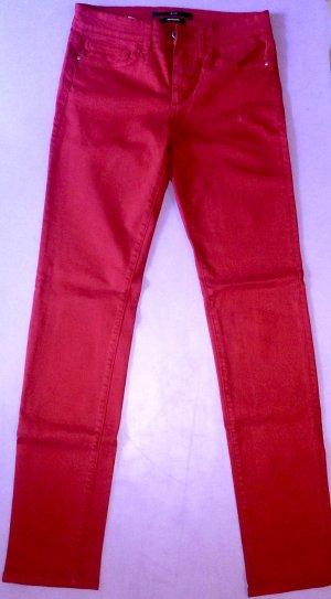 Rote Designer-Hose von Saks Fifth Avenue (USA) - wie neu!