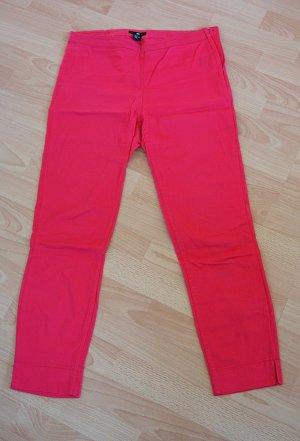 rote, dünne Jeans H&M