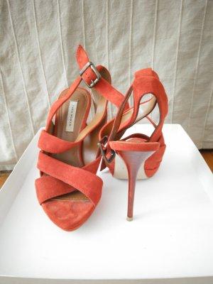 rote echtleder High Heels