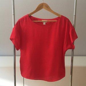 Rote Esprit Bluse