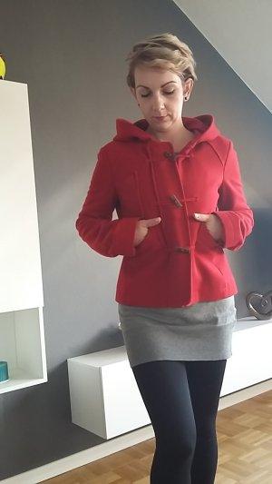 Rote Flauche Jacke von PATRIZIA PEPE