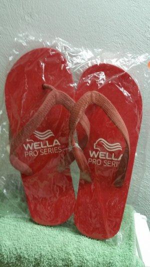Rote Flip Flops - neu