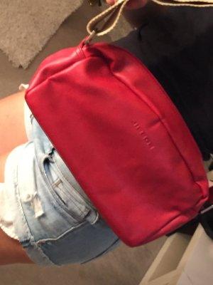 Rote Fossil Handtasche