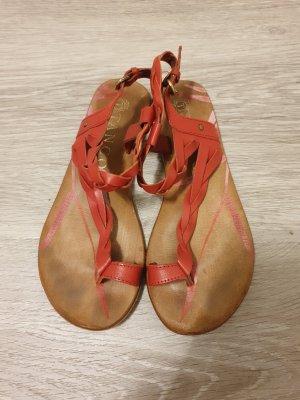 Tango Sandalias romanas rojo