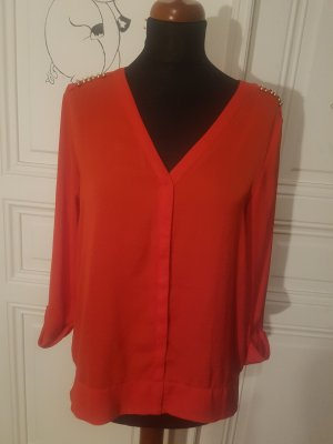 rote H&M Bluse Gr. 38