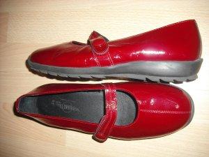 Rote halbschue von Panatti gr.39