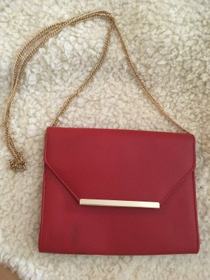 Rote Handtasche / Clutch
