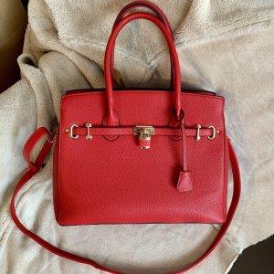 "Rote Handtasche ""Kelly Bag"""