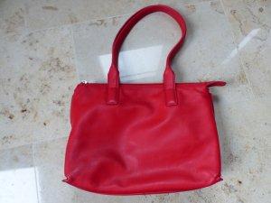 rote Handtasche / Schultertasche von Bree