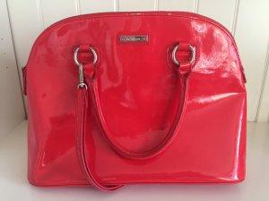 Rote Handtasche von Mango in gutem Zustand