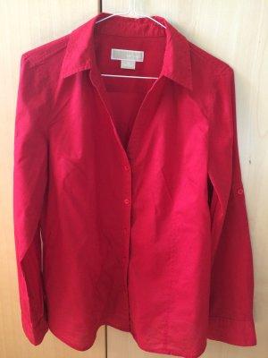Rote Hemdbluse von Michael Michael Kors