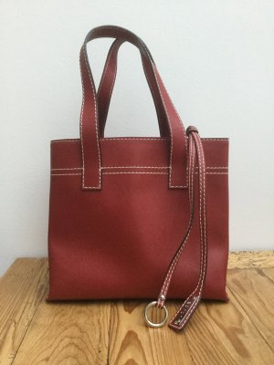 abro Carry Bag dark red leather