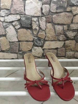 Rote High Heels, Größe 38