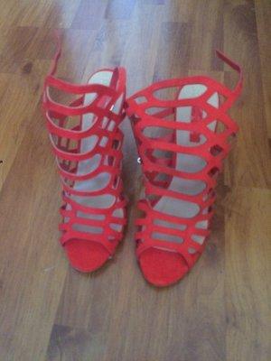 Rote High heels in Größe 41/42. Nagelneu