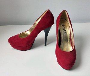 rote High Heels von Ricatti, Größe 36