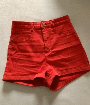 Pull & Bear High waist short rood