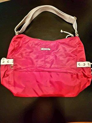 rote Hilfiger Handtasche