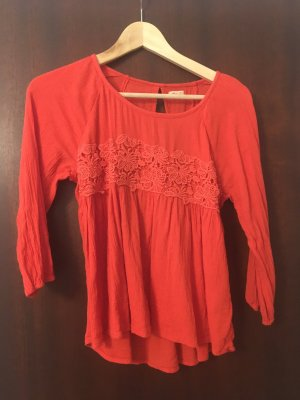 rote Hollister Bluse
