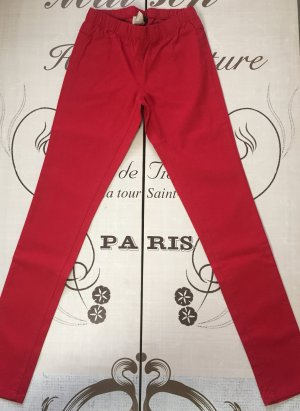Pieces Jeggings red