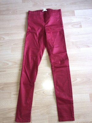 H&M Jegging rouge