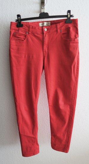 rote Hose Jeans Anna 40 42 Boyfriend