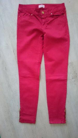 rote Hose von Zara gold