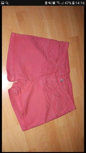 rote hotpans/Shorts