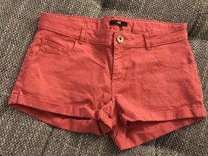 Rote Hotpants von H&M, Größe 36
