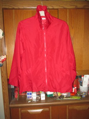 rote Jacke / Yves Rocher