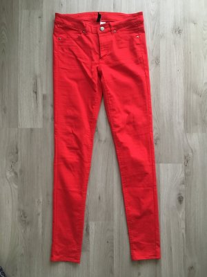 Rote Jeans H&M
