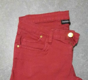Rote Jeans in Größe 38