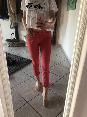 Rote Jeans von g- star