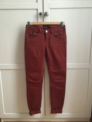 Maison Scotch Jeans skinny ruggine Cotone
