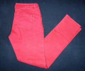 Rote Jeans von Orsay
