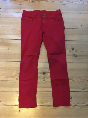 Promod Jeans 7/8 rouge-rouge fluo