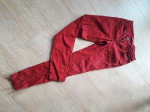 Street One Pantalón de cinco bolsillos rojo
