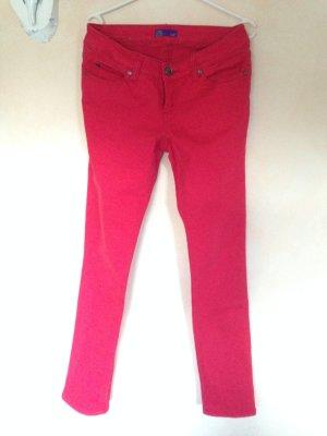 Rote Jeanshose von AJC Gr. 38