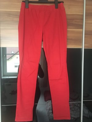 Rote Jeggings
