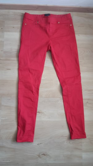 rote Jeggings von Warehouse London